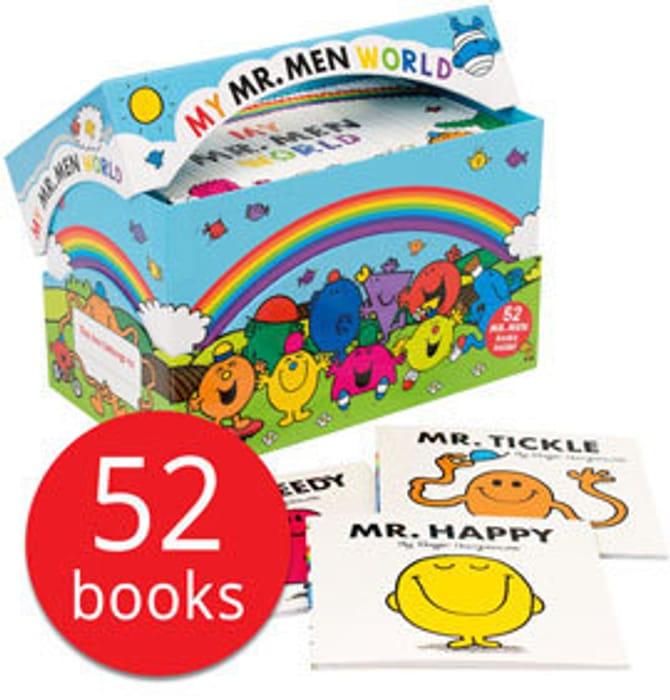 My Mr. Men World Collection - 52 Books