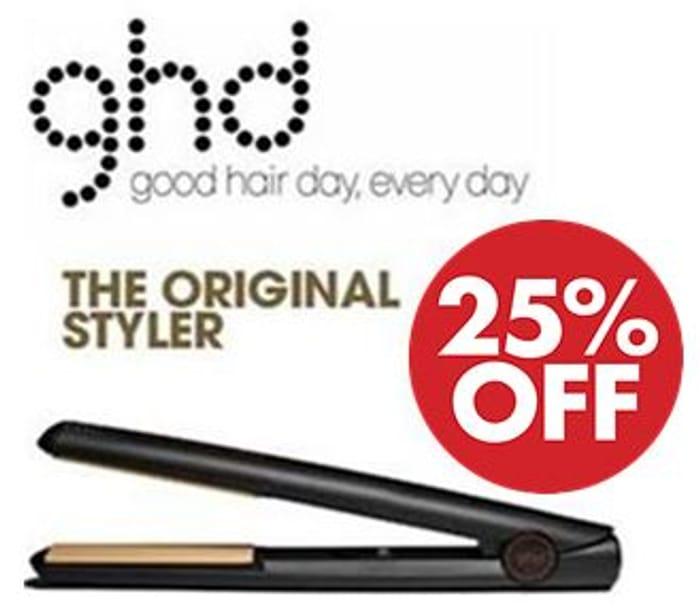 Ghd Original IV Styler Professional Ceramic Hair Straighteners - SAVE £27!