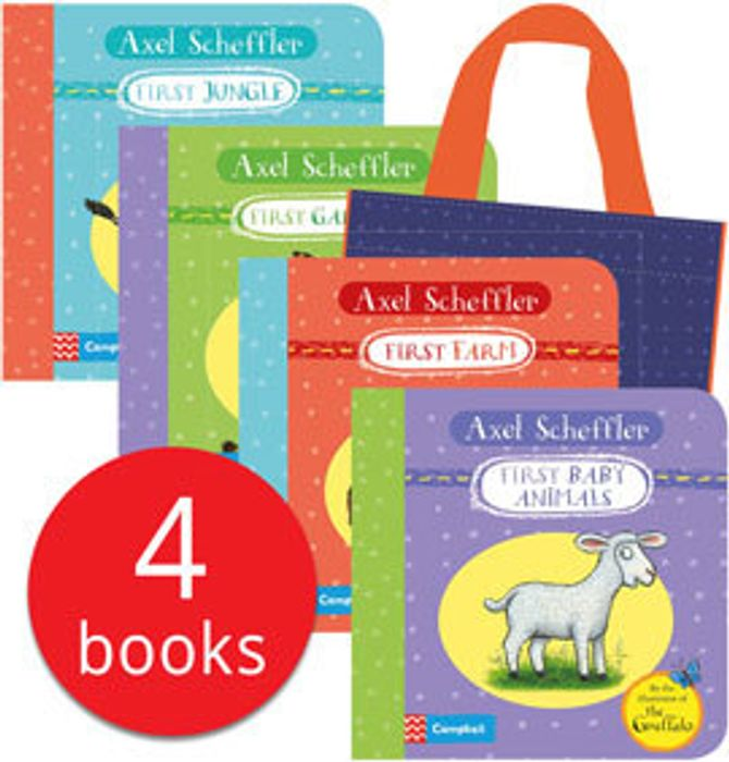 Special Offer - Axel Sheffler's My First Animals Bag of Books - 4 Books