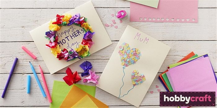 Easter Made Easy: Mother's Day Kids' Card Making