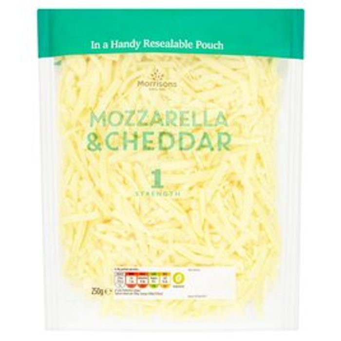 Morrisons Grated Mozzarella &