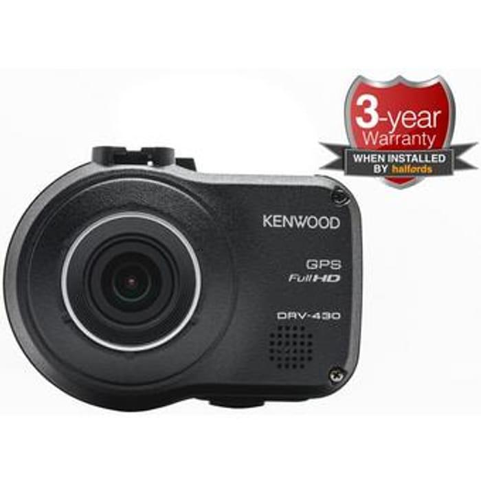 Kenwood DRV-430 Dash Cam -Less than Half Price @Halfords