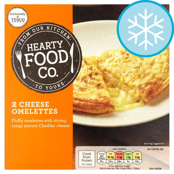 2 Cheese Omelettes 200G