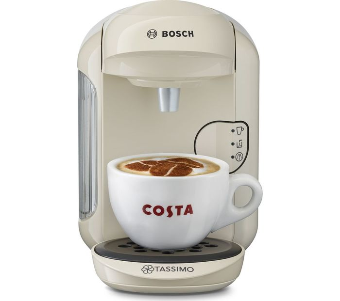 *HALF PRICE* TASSIMO by Bosch Vivy2 Hot Drinks Machine 5 Colours + FREE GIFT