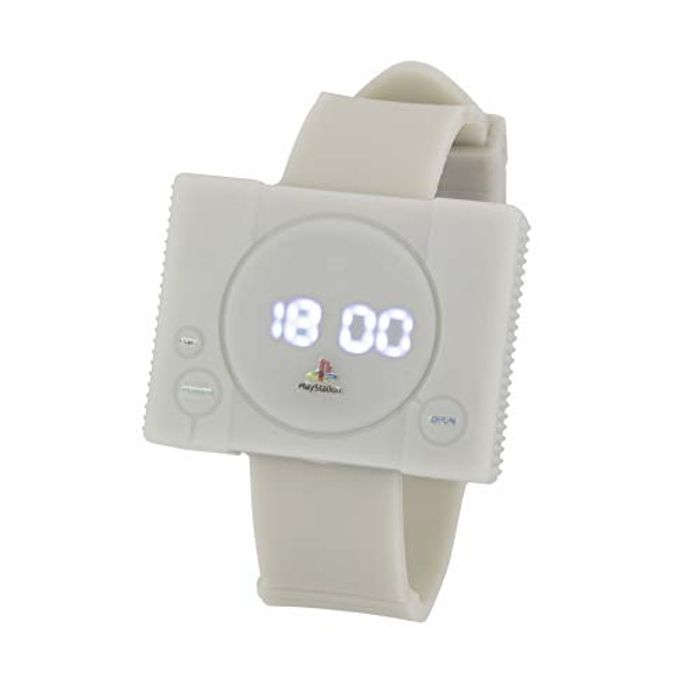 Paladone Men's Digital Automatic Playstation One Watch
