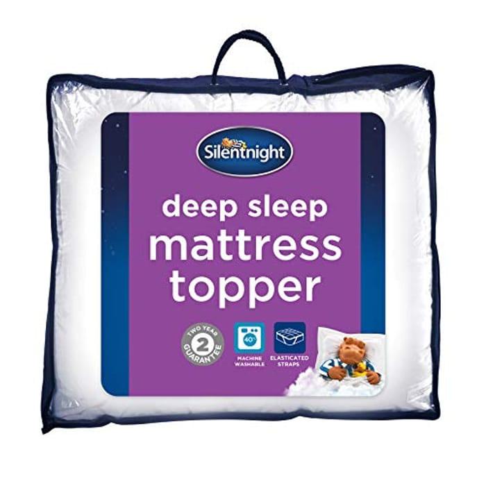 Silentnight Deep Sleep Mattress Topper, Double ***4.4 STARS***