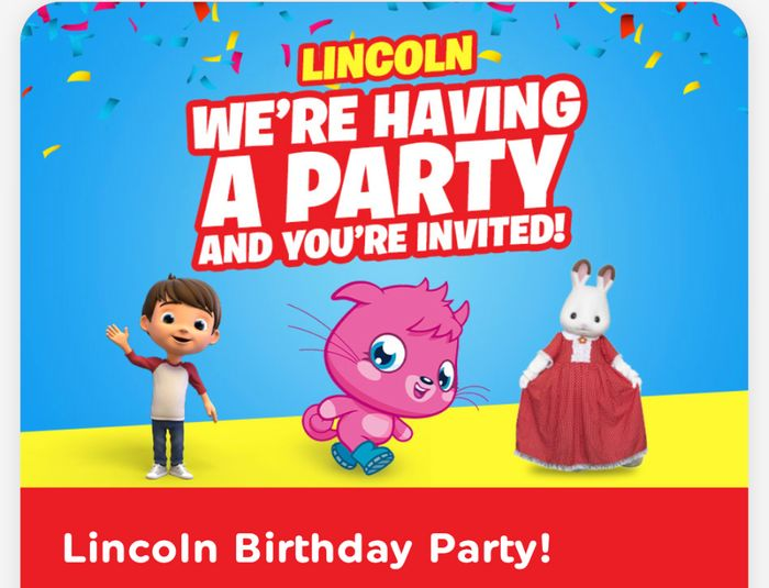 Free Lincoln Birthday Party! Sat 21 March
