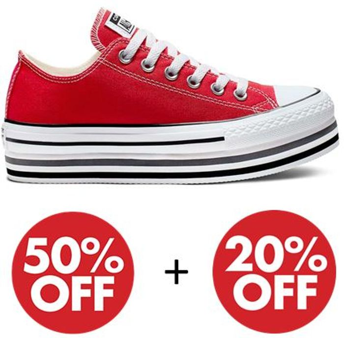 Special Offer - Up To 1/2 Price Converse + Up To 20% Extra Off With Code