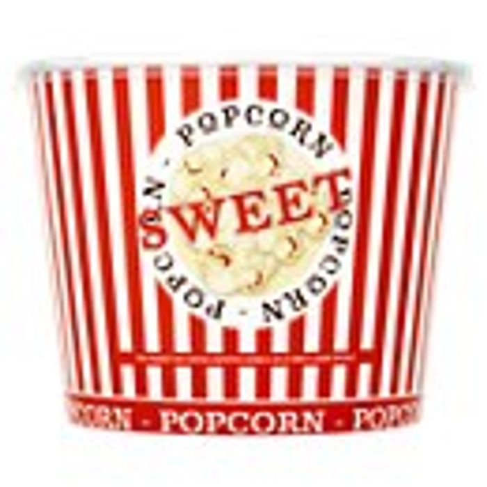 2 Buckets of Popcorn for Just £3