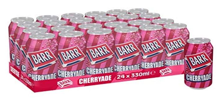 Barr Cherryade Cans, 24 X 330 Ml (Pantry Item)
