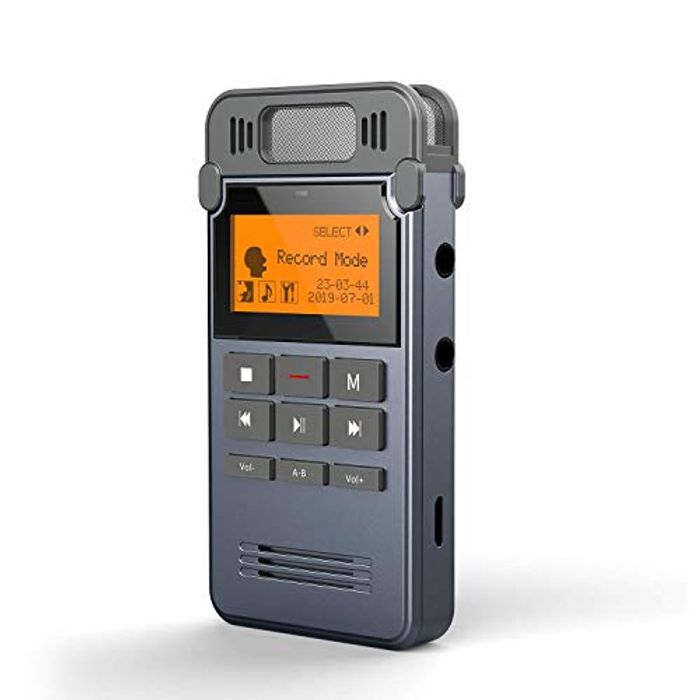 DEAL STACK! Digital Voice Recorder - Just £5.19