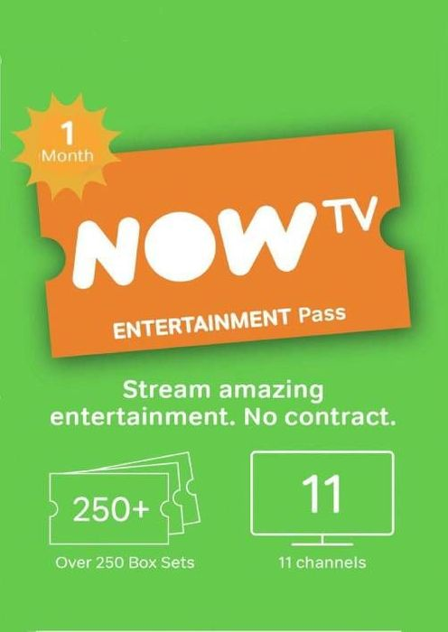 NOW TV - 1 Month Entertainment Pass