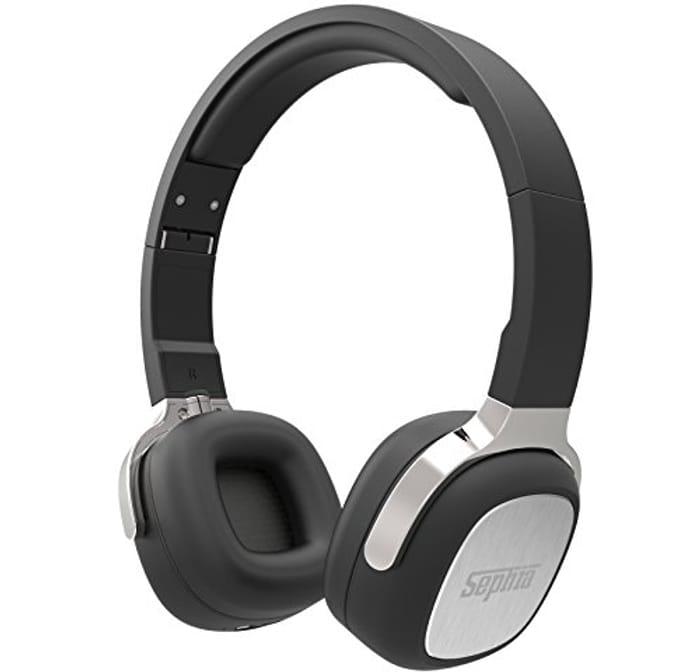 Sephia SX16 Wireless Bluetooth Headphones, Foldable