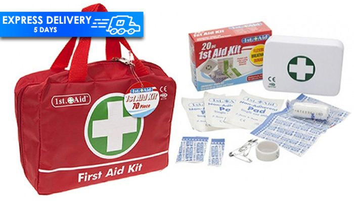 First Aid Kits - 20 or 70 Pieces!
