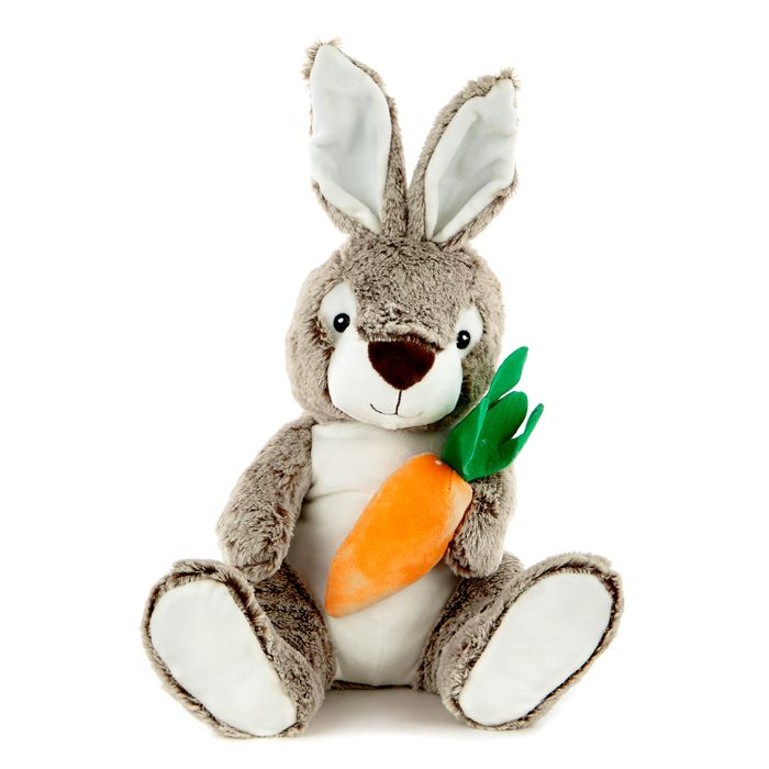 Easter Bunny with Carrot Soft Toy