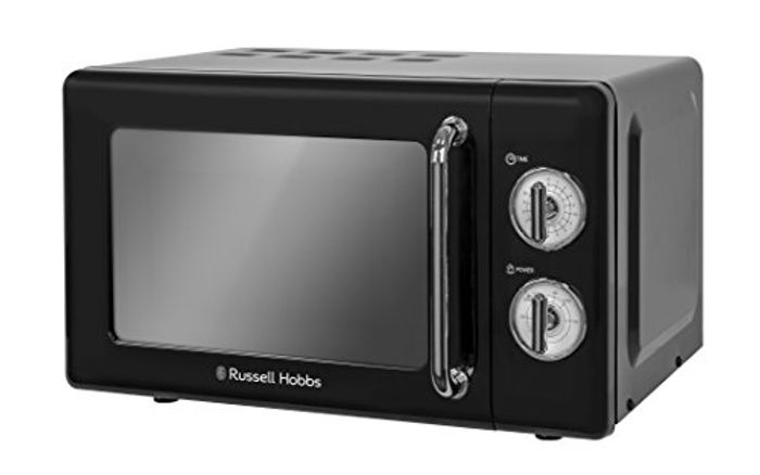 CHEAP MICROWAVE! SAVE £35. Russell Hobbs 17L Retro Solo Microwave **4.5 STARS**