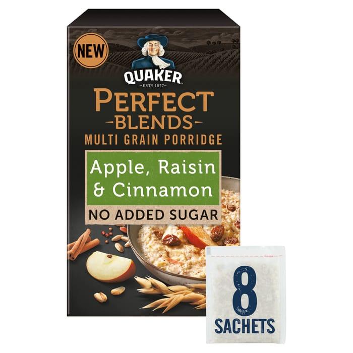 Quaker Perfect Blends Multigrain Porridge 8S 278G