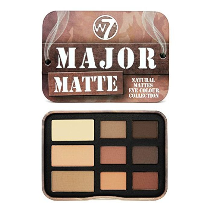 Best Ever Price! W7 Major Matte Natural Eye Colour Collection, 10 G