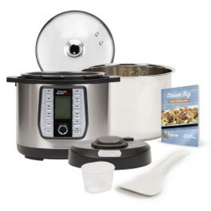 Power Quick Pot - the 8-in-1, One-Touch Pressure Multi-Cooker