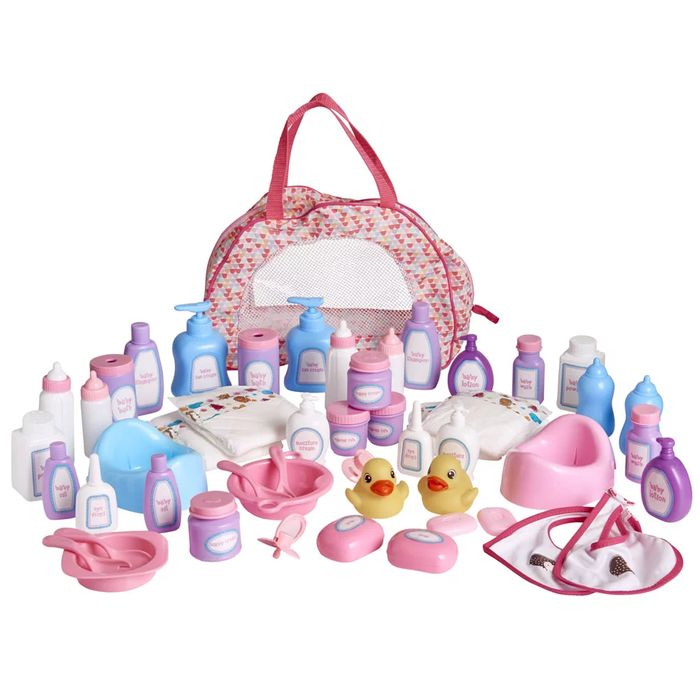 Best Price! 50 Piece Baby Doll Accessories with Bag