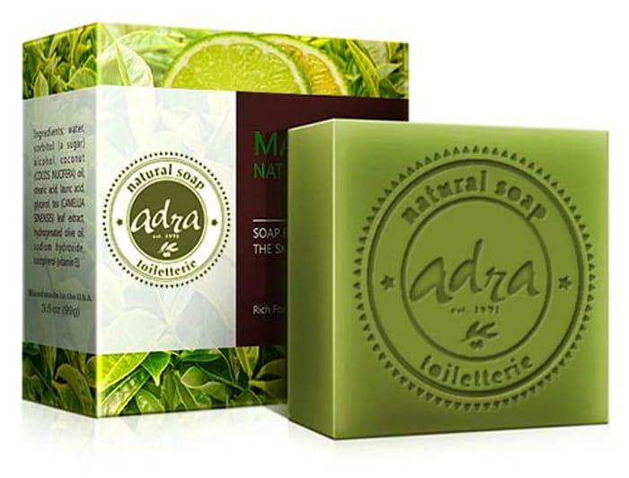 Free Green Tea Lime Soap