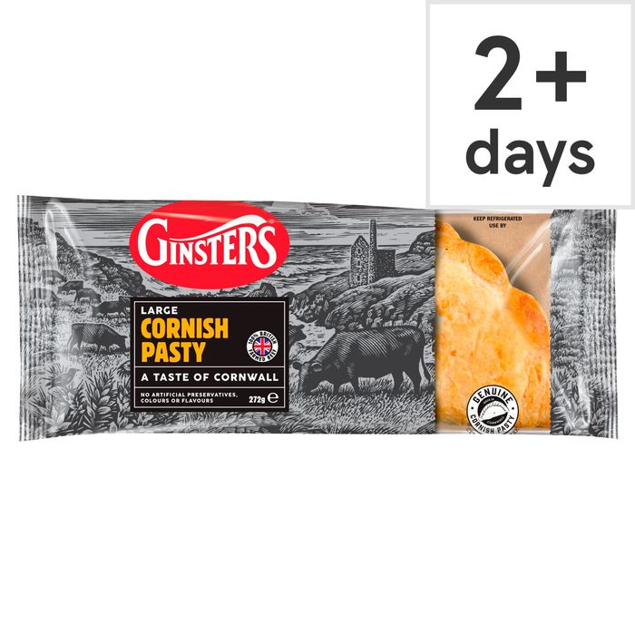 Ginsters Large Cornish Pasty 272G
