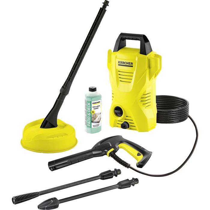 Karcher K2 Compact Pressure Washer and Patio Cleaner