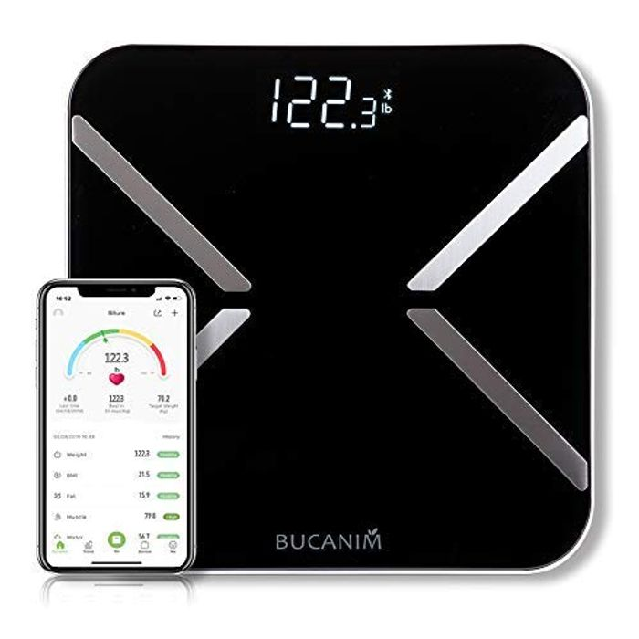 Save 50% - Digital Bluetooth Smart Weighing Scale with Backlight