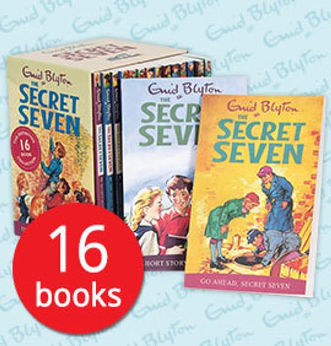 The Secret Seven Collection - 16 Books