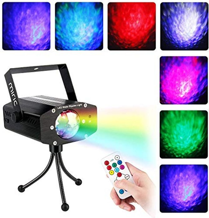 Save 65%- Miric Disco Light, Party Lights with Remote Control