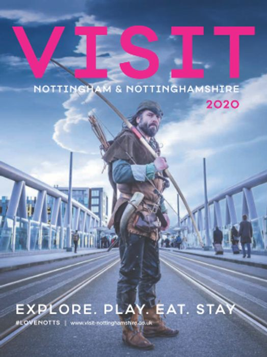 Get a Free Visit Guide to Nottinghamshire 2020 by Post