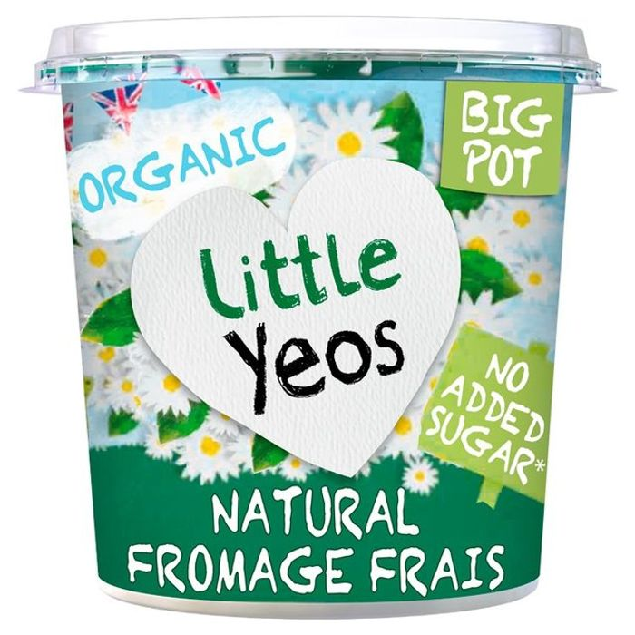 FREE Little Yeos Natural Fromage Frais Big Pot