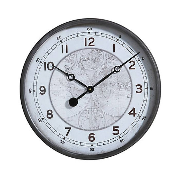 World Map Wall Clock - Only £65!
