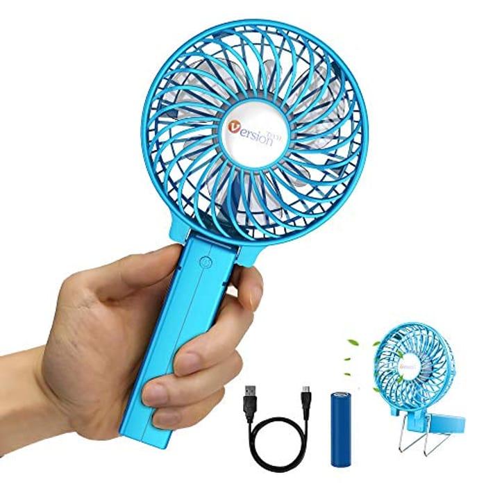 VersionTECH. Hand Held Fan,Desk fan,Portable USB Fan Mini Foldable