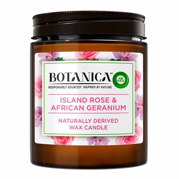 Botanica Rose and Geraneum Candle - HALF PRICE