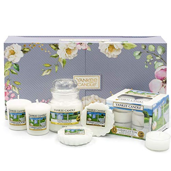 Yankee Candle Gift Set, Clean Cotton