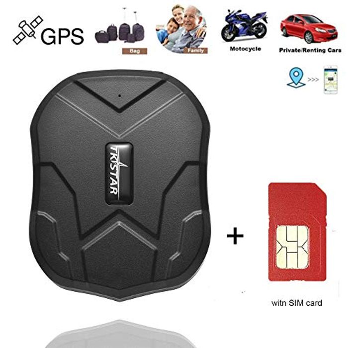 GPS trackerSIM Card Included, GPS Tracking Device