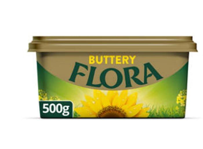 Half Price Flora Range,only £1 at Asda(500g)