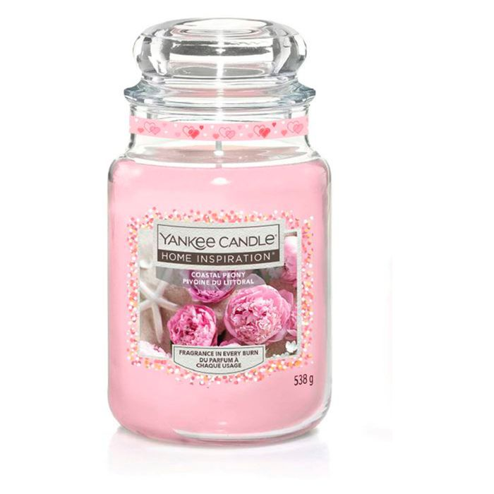 Cheap Yankee Candle Excellence Large Jar Coastal Peony Only £9