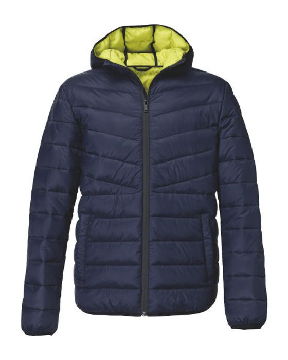 Men's Navy Spring Quilted Jacket