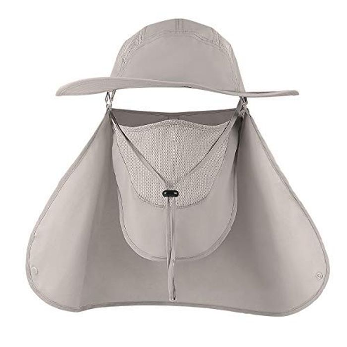 Deal Stack! Sun Protection Fishing Hat + Free 15L Dry Bag