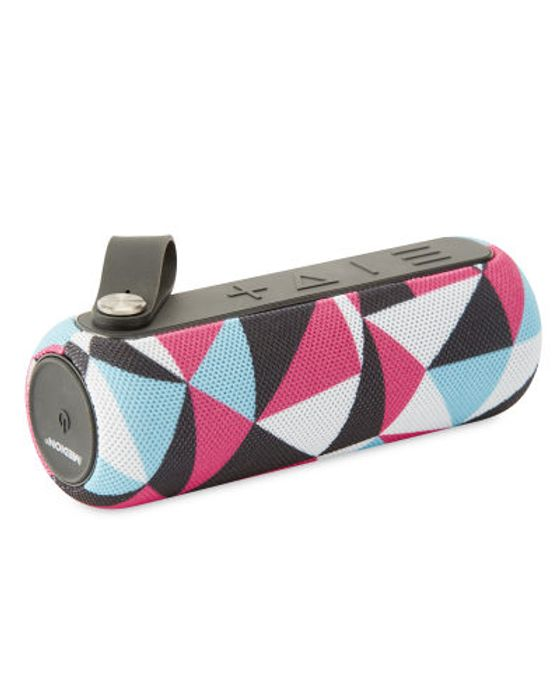Pink Bluetooth Speaker Patterned - Save £5