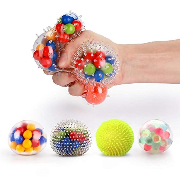 Fansteck Anti Stress Ball 4 Pack