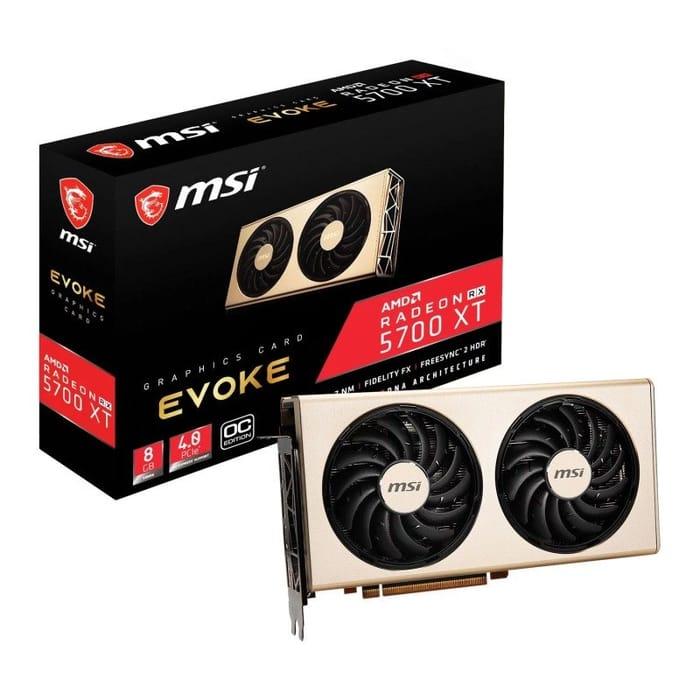 MSI Radeon RX 5700 XT EVOKE OC 8GB Graphics Card