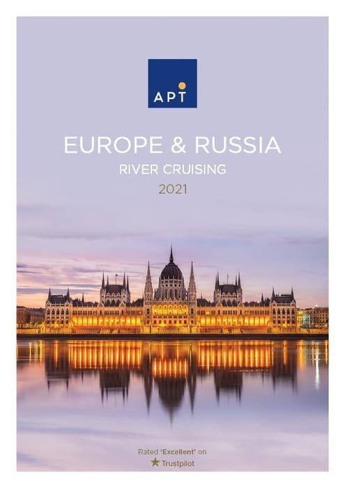 Europe & Russia River Cruising 2021 Free Brochure via Post