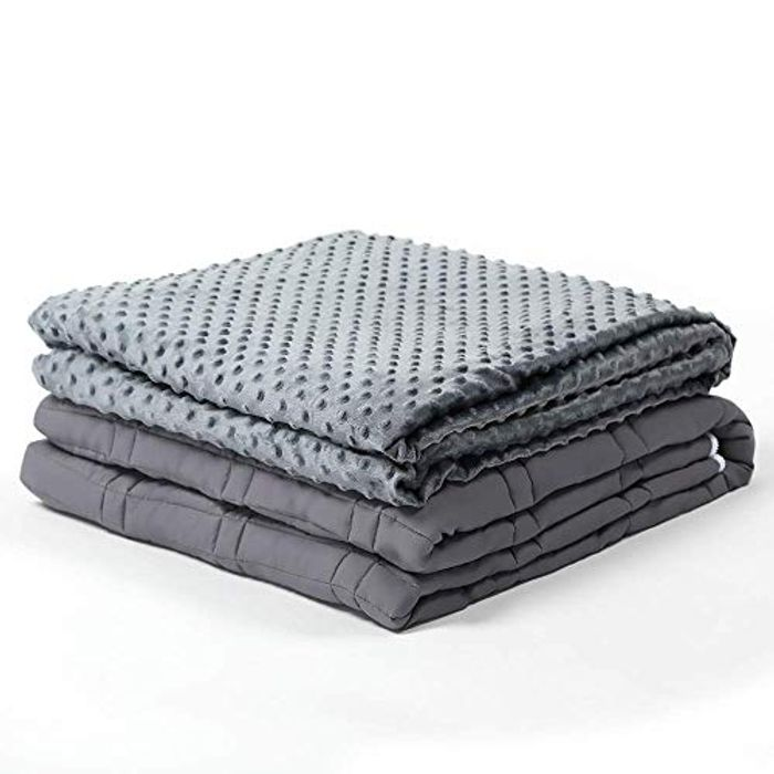 Weighted Blanket 15lbs 48*72 Calming Blanket for Adult & Kids