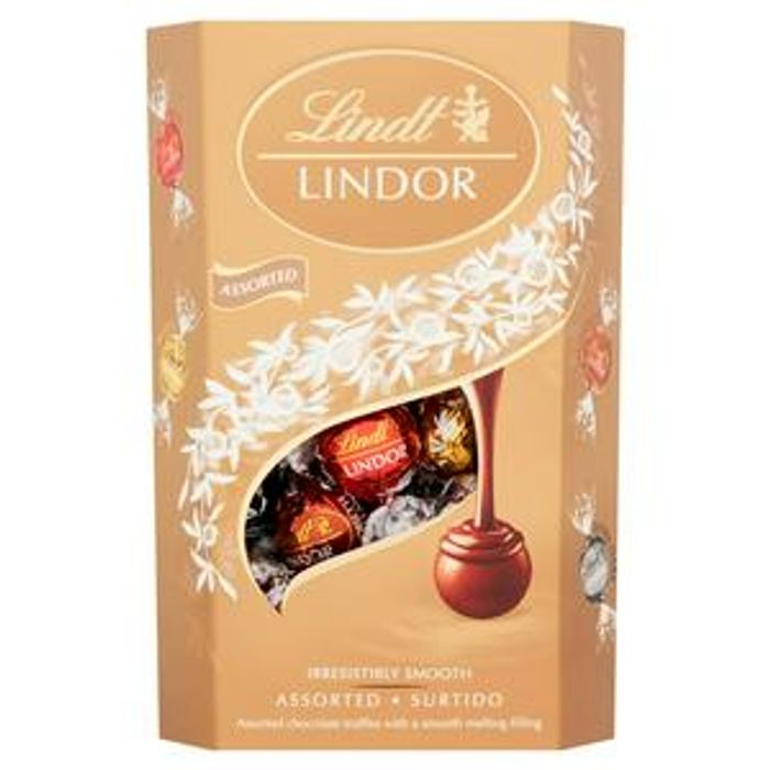 Lindt Lindor Assorted Chocolate Truffles Box 337g