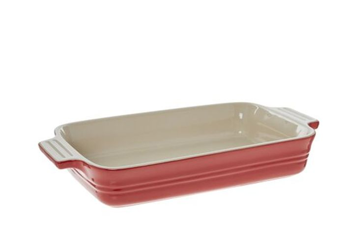 LE CREUSET Chilli Red Oven Dish 32x19cm - Only £12.99!