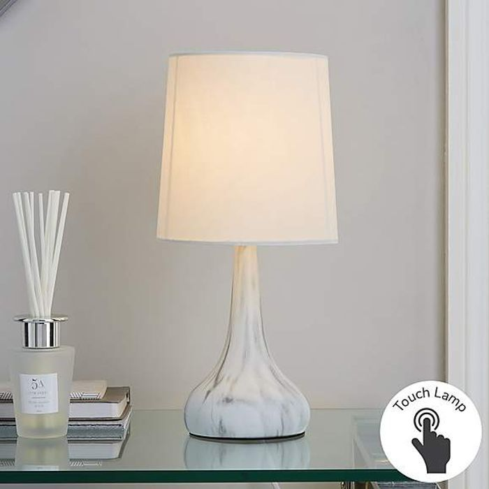 Rimini Marble Touch Lamp