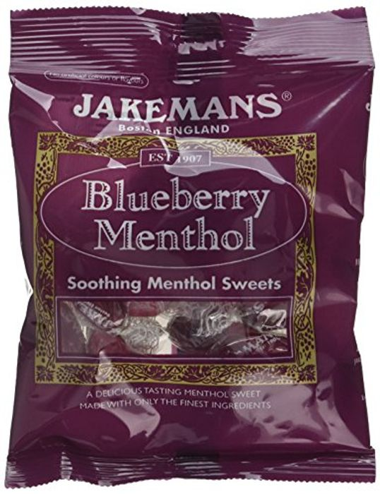 Jakemans Blueberry Bags, 100 G with Prime Delivery